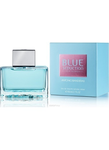 Antonio Banderas Blue Seduction EDT 80 ml Kadın Parfüm Renksiz